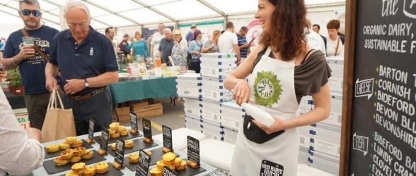 The Shops at Dartington May Food Fair