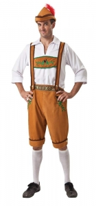 Bristol Novelty German Country Man Costume