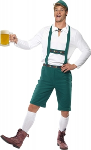 Smiffy's Oktoberfest Costume Green