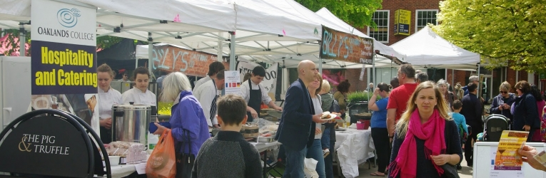 The World Food Festival At Welwyn Garden City