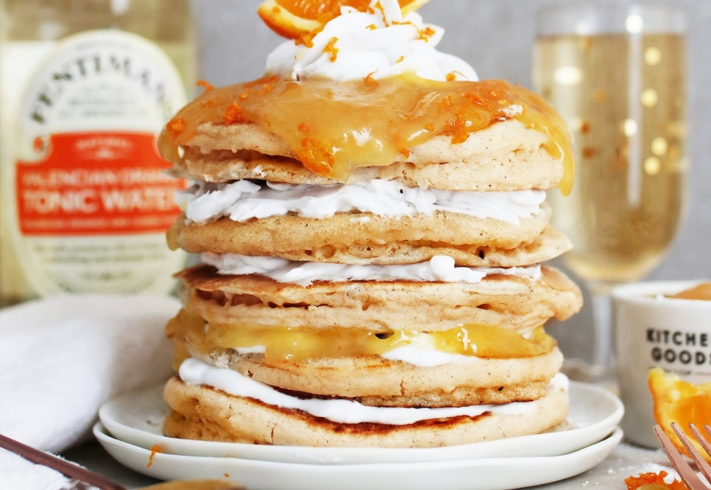 Gin And Tonic Pancakes