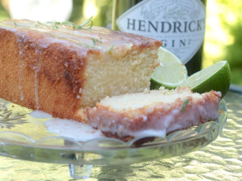 Gin & Tonic Drizzle Cake