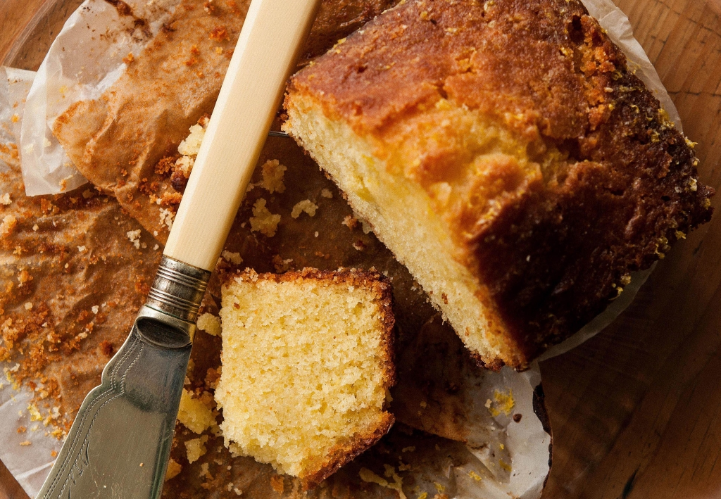 Grown Up G&t Drizzle Cake