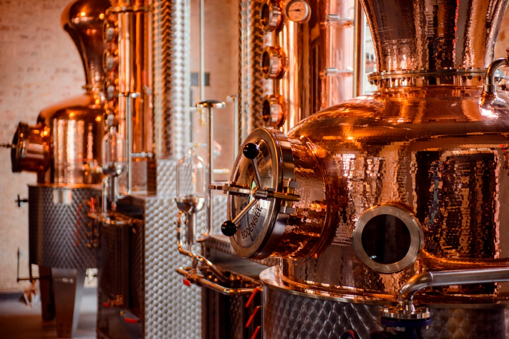 Spirit Of Gin Tour And Tasting