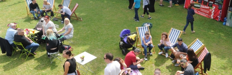 Forbury Gardens, Blue Collar Food Festival