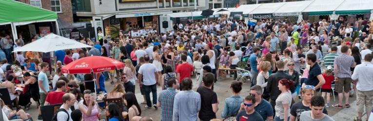 Food Festival Millenium Square Leeds